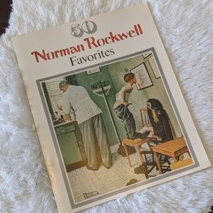 Norman Rockwell Accents - 50 Norman Rockwell Favorites Tabletop Book